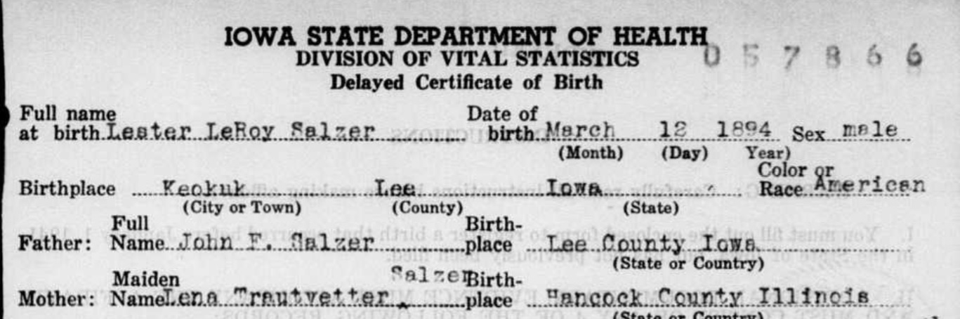 Iowa Delayed Birth Records 1850 1939 On Familysearch Genealogy