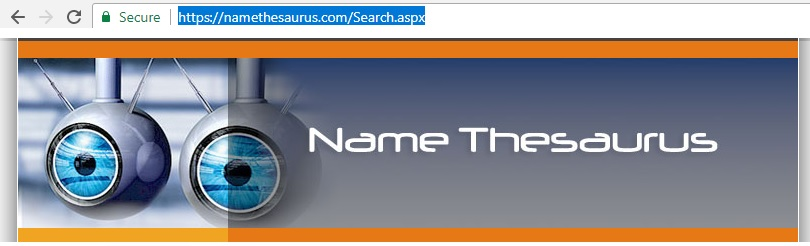 name-thesauraus