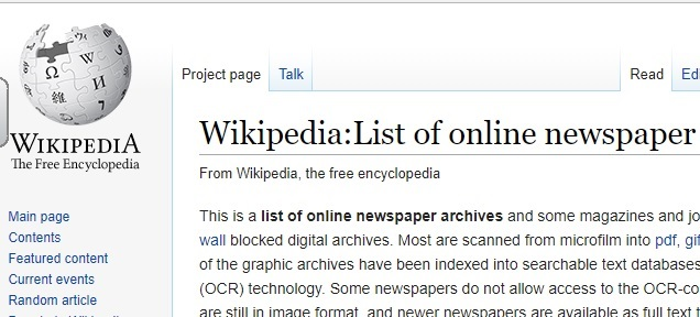 wikipedia-online-newspapers