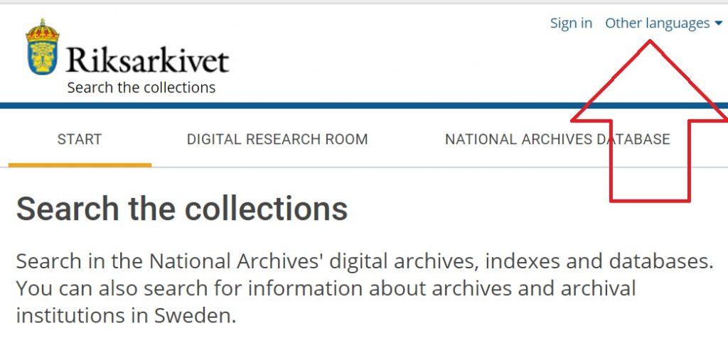 swedish-archives