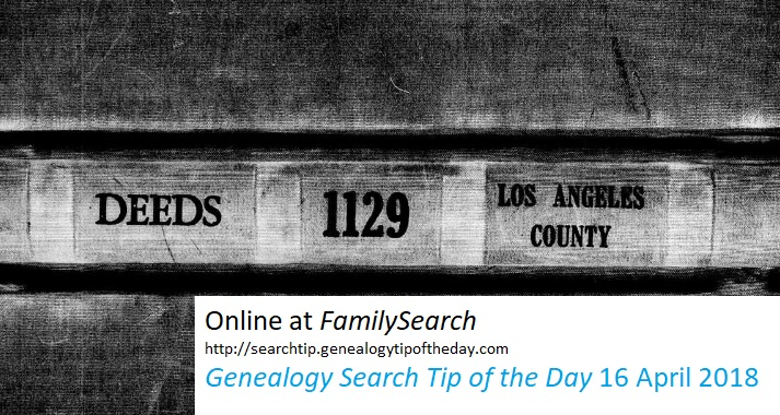family-search-los-angeles-deeds